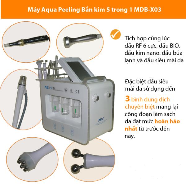Máy Siêu Mài Mòn Thủy Lực Aqua Peeling MDB X03