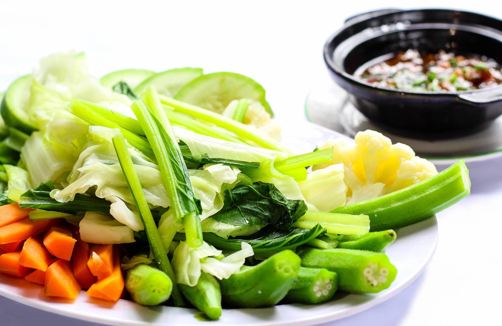 ăn đồ luộc giảm cân