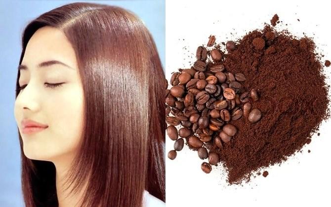 cách làm thuốc nhuộm tóc từ cafe