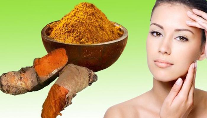 cách chăm sóc da sau sinh với tinh bột nghệ