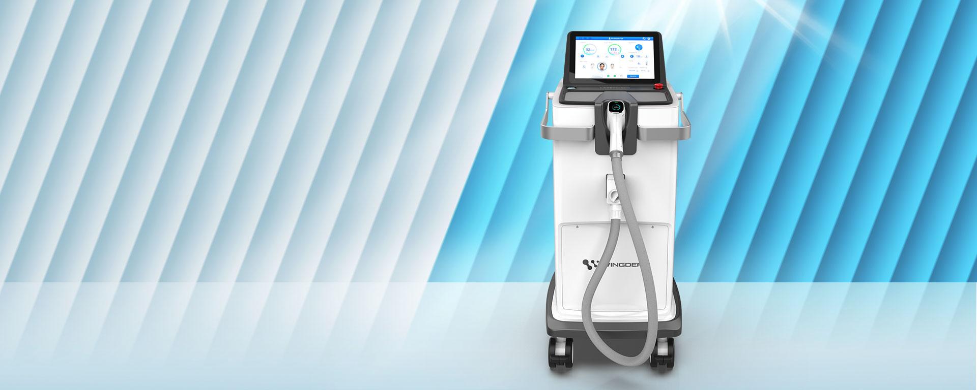 máy triệt lông lasermach pro 3 bước sóng chính hãng