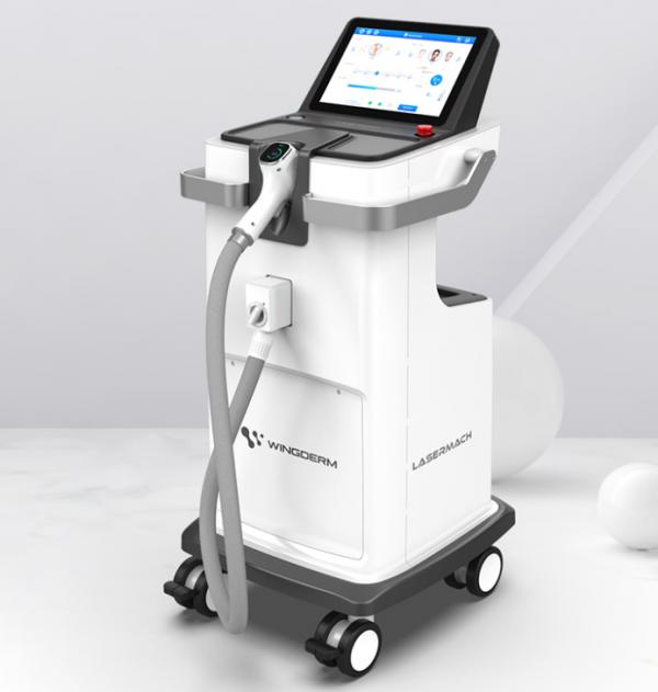 máy triệt lông lasermach pro 3 bước sóng tại trinh mỹ